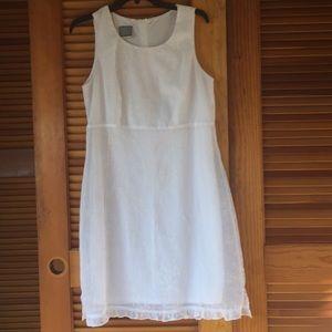 Rabbit Dress white dress Size 10